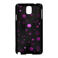 Decorative Dots Pattern Samsung Galaxy Note 3 Neo Hardshell Case (black) by ValentinaDesign