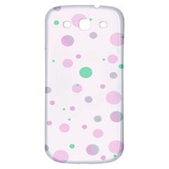 Decorative Dots Pattern Samsung Galaxy S3 S Iii Classic Hardshell Back Case by ValentinaDesign