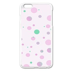 Decorative Dots Pattern Apple Iphone 6 Plus/6s Plus Enamel White Case by ValentinaDesign