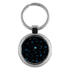 Decorative Dots Pattern Key Chains (round)  by ValentinaDesign