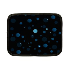 Decorative Dots Pattern Netbook Case (small)  by ValentinaDesign