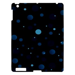 Decorative Dots Pattern Apple Ipad 3/4 Hardshell Case by ValentinaDesign
