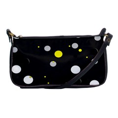 Decorative Dots Pattern Shoulder Clutch Bags by ValentinaDesign