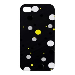 Decorative Dots Pattern Apple Iphone 4/4s Hardshell Case by ValentinaDesign