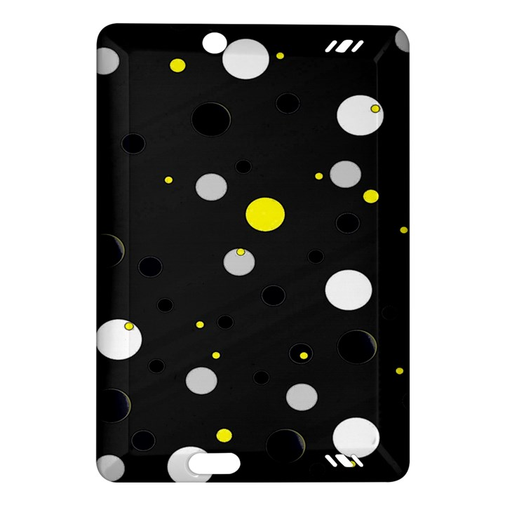 Decorative dots pattern Amazon Kindle Fire HD (2013) Hardshell Case