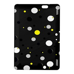 Decorative Dots Pattern Kindle Fire Hdx 8 9  Hardshell Case by ValentinaDesign