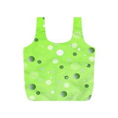 Decorative Dots Pattern Full Print Recycle Bags (s)  by ValentinaDesign