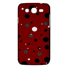 Decorative Dots Pattern Samsung Galaxy Mega 5 8 I9152 Hardshell Case  by ValentinaDesign