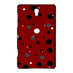 Decorative Dots Pattern Samsung Galaxy Tab S (8 4 ) Hardshell Case  by ValentinaDesign