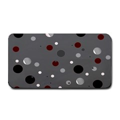 Decorative Dots Pattern Medium Bar Mats by ValentinaDesign
