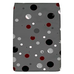 Decorative Dots Pattern Flap Covers (s)  by ValentinaDesign
