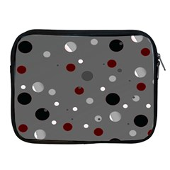 Decorative Dots Pattern Apple Ipad 2/3/4 Zipper Cases by ValentinaDesign