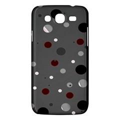 Decorative Dots Pattern Samsung Galaxy Mega 5 8 I9152 Hardshell Case  by ValentinaDesign