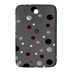 Decorative Dots Pattern Samsung Galaxy Note 8 0 N5100 Hardshell Case  by ValentinaDesign