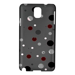 Decorative Dots Pattern Samsung Galaxy Note 3 N9005 Hardshell Case by ValentinaDesign