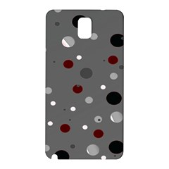 Decorative Dots Pattern Samsung Galaxy Note 3 N9005 Hardshell Back Case by ValentinaDesign