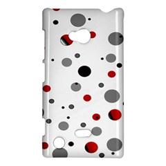 Decorative Dots Pattern Nokia Lumia 720 by ValentinaDesign