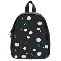 Decorative Dots Pattern School Bags (small)  by ValentinaDesign