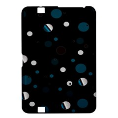 Decorative Dots Pattern Kindle Fire Hd 8 9  by ValentinaDesign