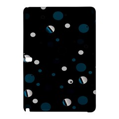 Decorative Dots Pattern Samsung Galaxy Tab Pro 10 1 Hardshell Case by ValentinaDesign