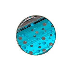 Decorative Dots Pattern Hat Clip Ball Marker (10 Pack) by ValentinaDesign
