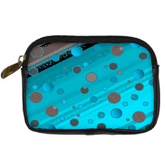 Decorative Dots Pattern Digital Camera Cases by ValentinaDesign