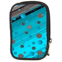 Decorative Dots Pattern Compact Camera Cases by ValentinaDesign
