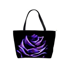 Rose Flower Design Nature Blossom Shoulder Handbags by Nexatart