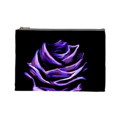 Rose Flower Design Nature Blossom Cosmetic Bag (large)