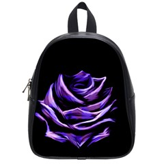 Rose Flower Design Nature Blossom School Bags (small)  by Nexatart