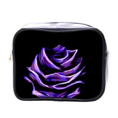 Rose Flower Design Nature Blossom Mini Toiletries Bags by Nexatart