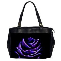 Rose Flower Design Nature Blossom Office Handbags by Nexatart