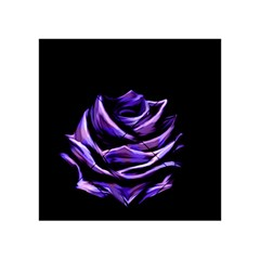 Rose Flower Design Nature Blossom Acrylic Tangram Puzzle (4  X 4 ) by Nexatart
