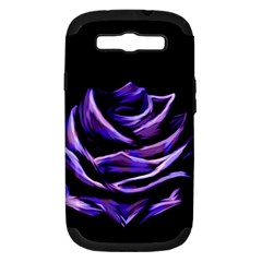 Rose Flower Design Nature Blossom Samsung Galaxy S Iii Hardshell Case (pc+silicone) by Nexatart