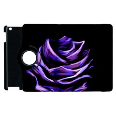 Rose Flower Design Nature Blossom Apple Ipad 2 Flip 360 Case by Nexatart