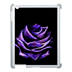 Rose Flower Design Nature Blossom Apple Ipad 3/4 Case (white) by Nexatart