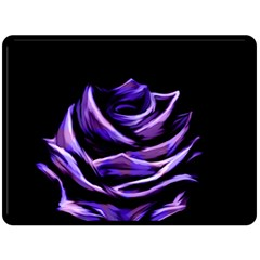 Rose Flower Design Nature Blossom Double Sided Fleece Blanket (large)  by Nexatart