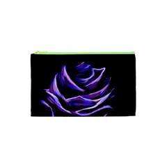 Rose Flower Design Nature Blossom Cosmetic Bag (xs)