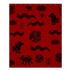 Aztecs Pattern Shower Curtain 60  X 72  (medium)  by ValentinaDesign