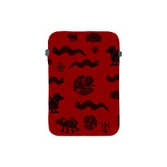 Aztecs Pattern Apple Ipad Mini Protective Soft Cases by ValentinaDesign