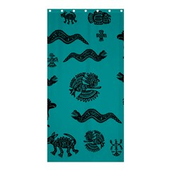 Aztecs Pattern Shower Curtain 36  X 72  (stall)  by ValentinaDesign