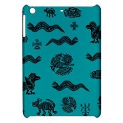 Aztecs Pattern Apple Ipad Mini Hardshell Case by ValentinaDesign