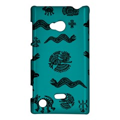 Aztecs Pattern Nokia Lumia 720 by ValentinaDesign