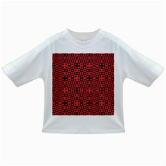 Abstract Background Red Black Infant/toddler T Shirts