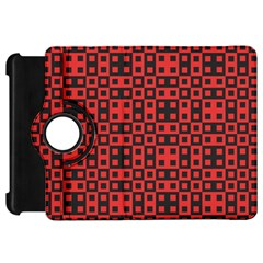 Abstract Background Red Black Kindle Fire Hd 7  by Nexatart