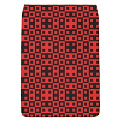 Abstract Background Red Black Flap Covers (s)  by Nexatart