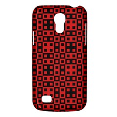 Abstract Background Red Black Galaxy S4 Mini by Nexatart