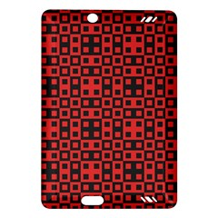 Abstract Background Red Black Amazon Kindle Fire Hd (2013) Hardshell Case by Nexatart