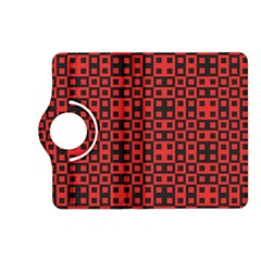 Abstract Background Red Black Kindle Fire Hd (2013) Flip 360 Case by Nexatart