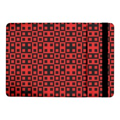 Abstract Background Red Black Samsung Galaxy Tab Pro 10 1  Flip Case by Nexatart